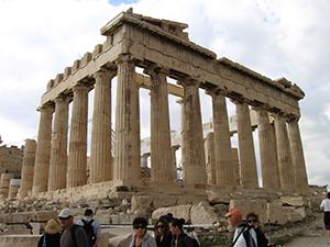 Griekenland ruine
