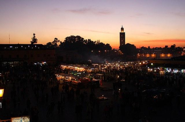 Marrakech Marokko vakantie