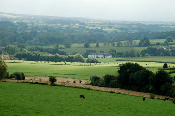 Heuvels van het Limburgse landschap