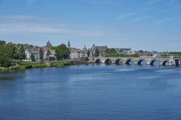 Maas in Maastricht
