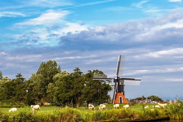 Windmolen Friesland